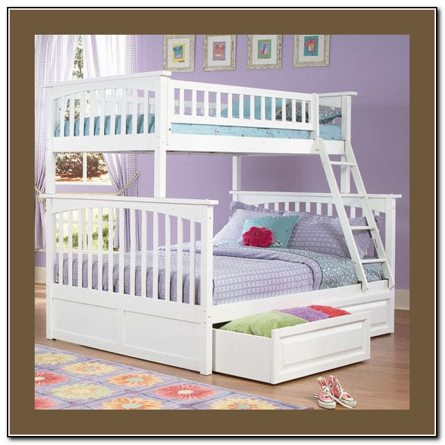 Girls Twin Bed With Storage