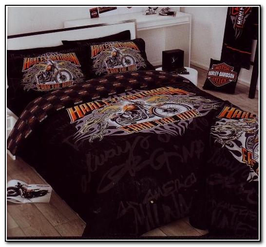 Harley Davidson Queen Size Bedding