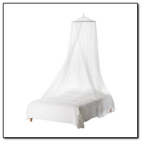 Ikea White Canopy Bed