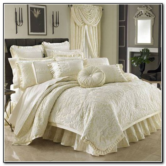 J Queen New York Bedding Marquis Comforter Sets