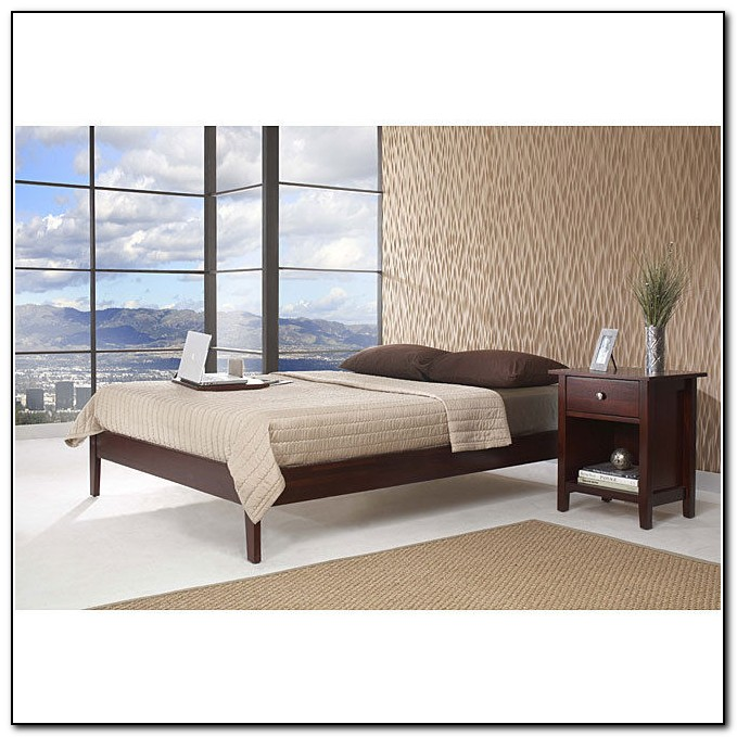 Low Profile Bed Frame Plans
