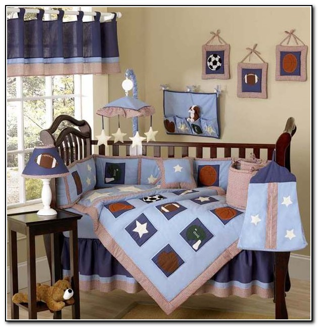 Luxury Baby Boy Nursery Bedding