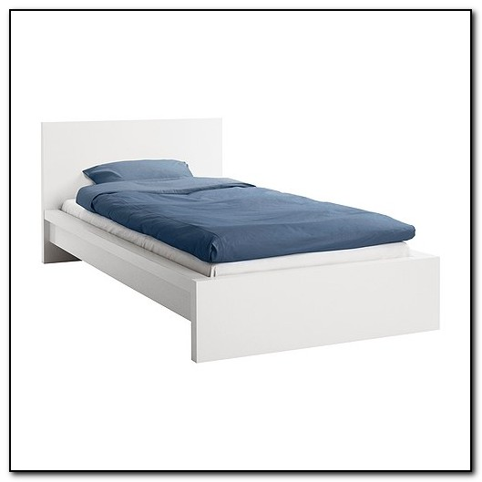 Malm Bed Frame Low White