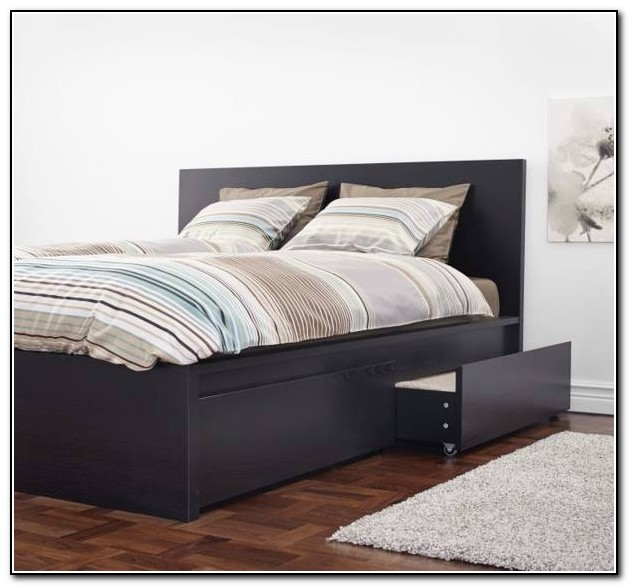 Malm Bed Frame With Box Spring