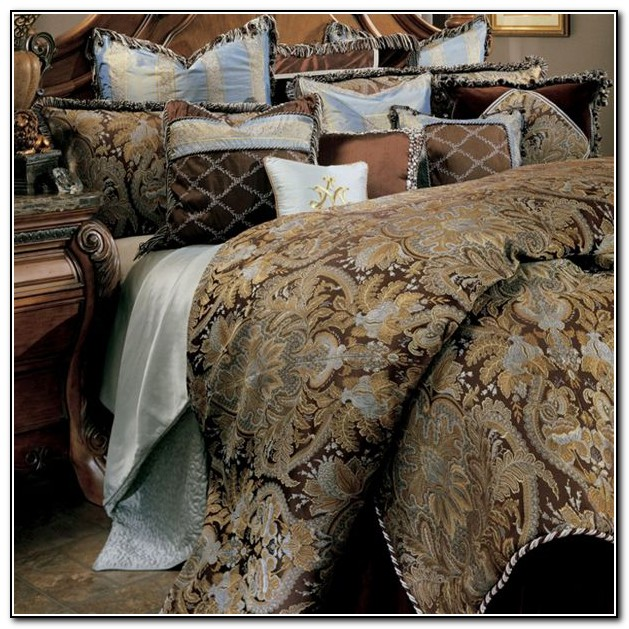 Michael Amini Bedding Collection