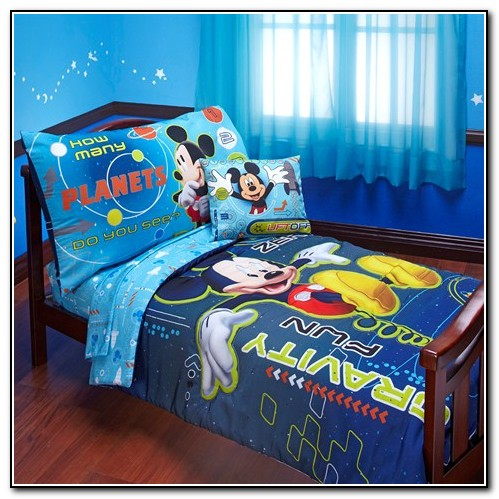 Mickey Mouse Toddler Bedding Sets For Boys
