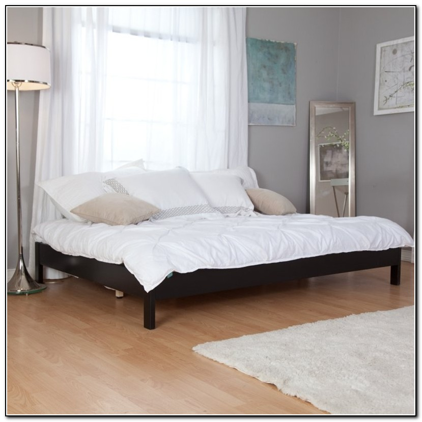 Murray Black Platform Bed