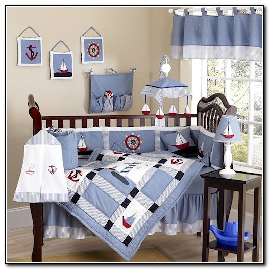 Nautical Baby Bedding Crib Sets