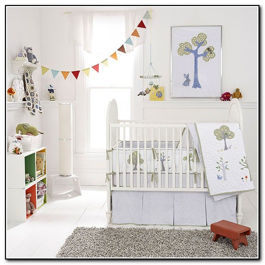 Owl And Elephant Baby Bedding