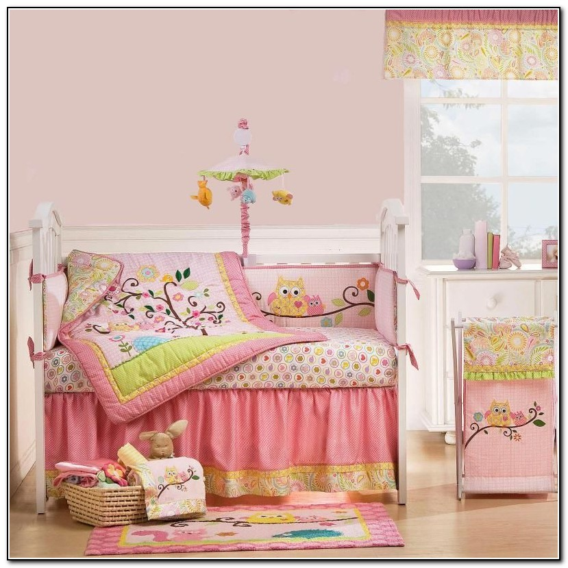 Owl Nursery Bedding Girl