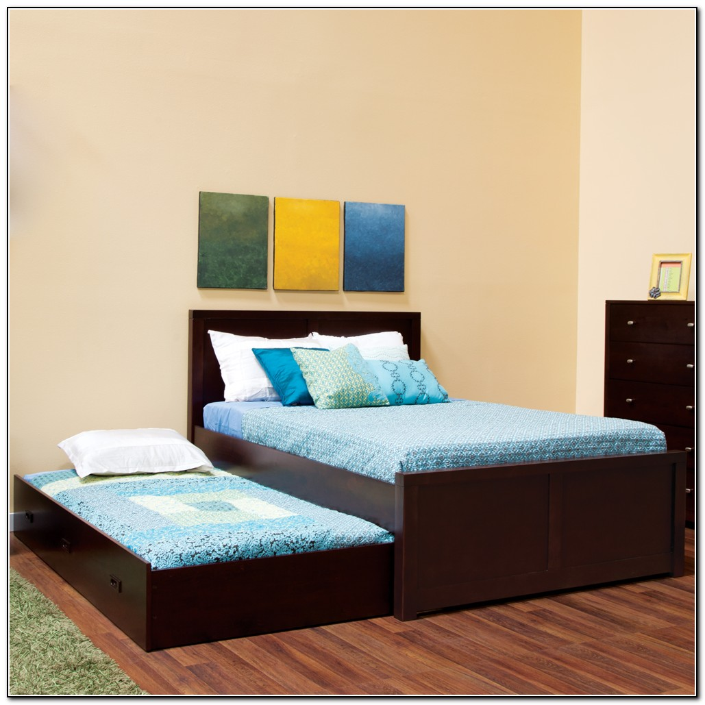 Peyton Full Bed With Trundle And Storage