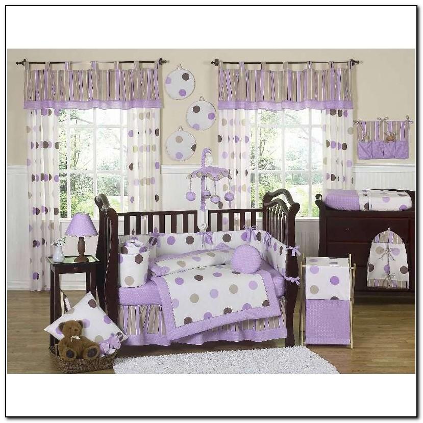Purple Baby Bedding Crib Sets