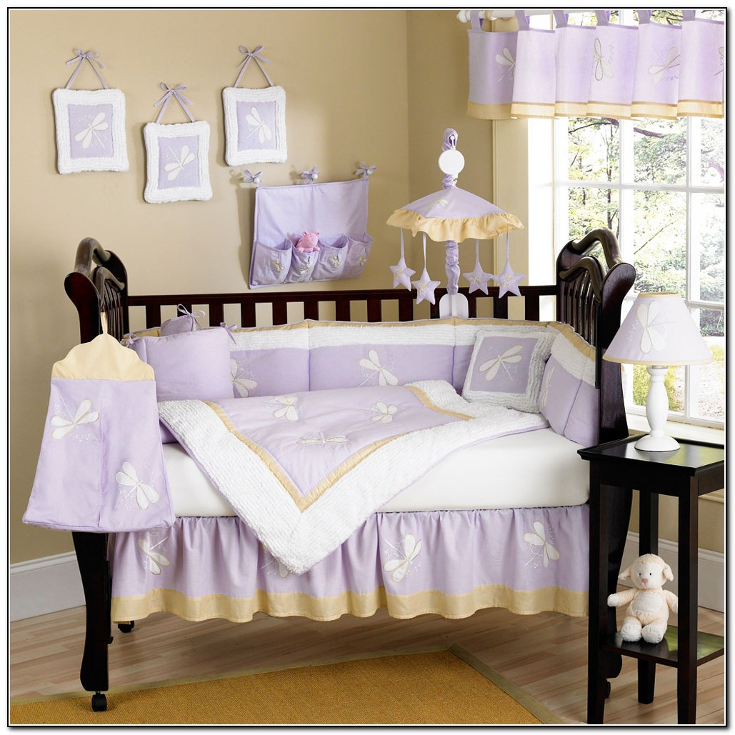 Purple Baby Bedding Sets
