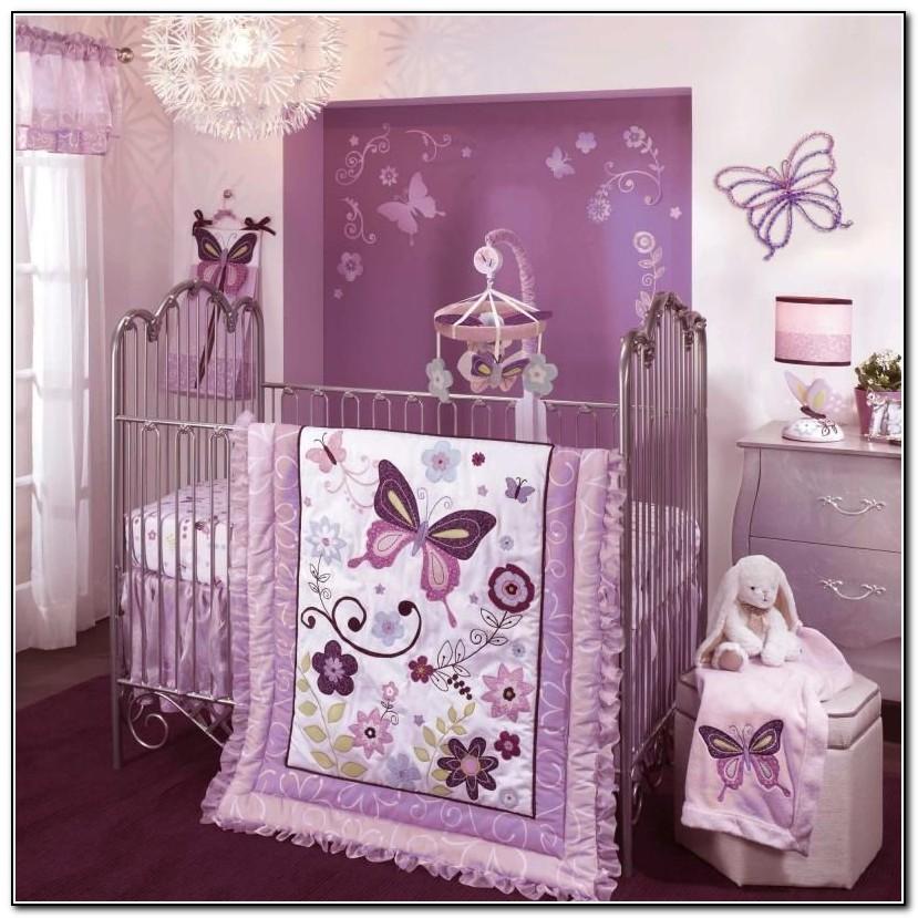 Purple Crib Bedding Canada