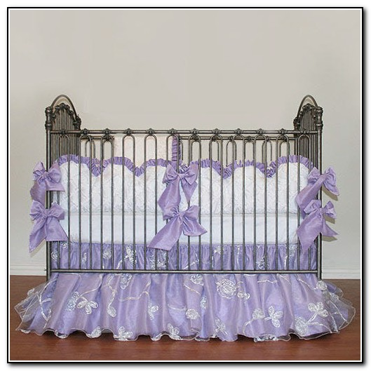 Purple Crib Blankets