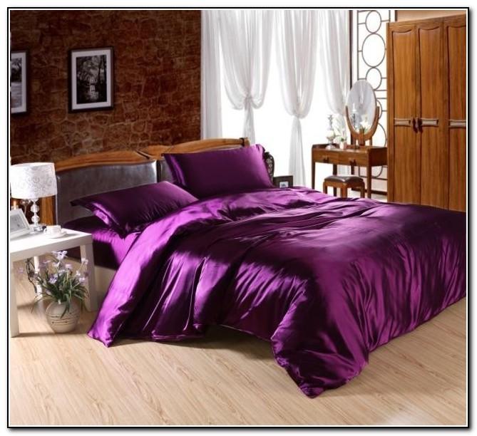 Silk Bed Sheets Full