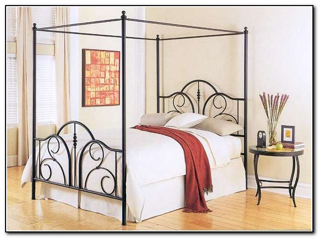 Twin Canopy Bed Cover Top