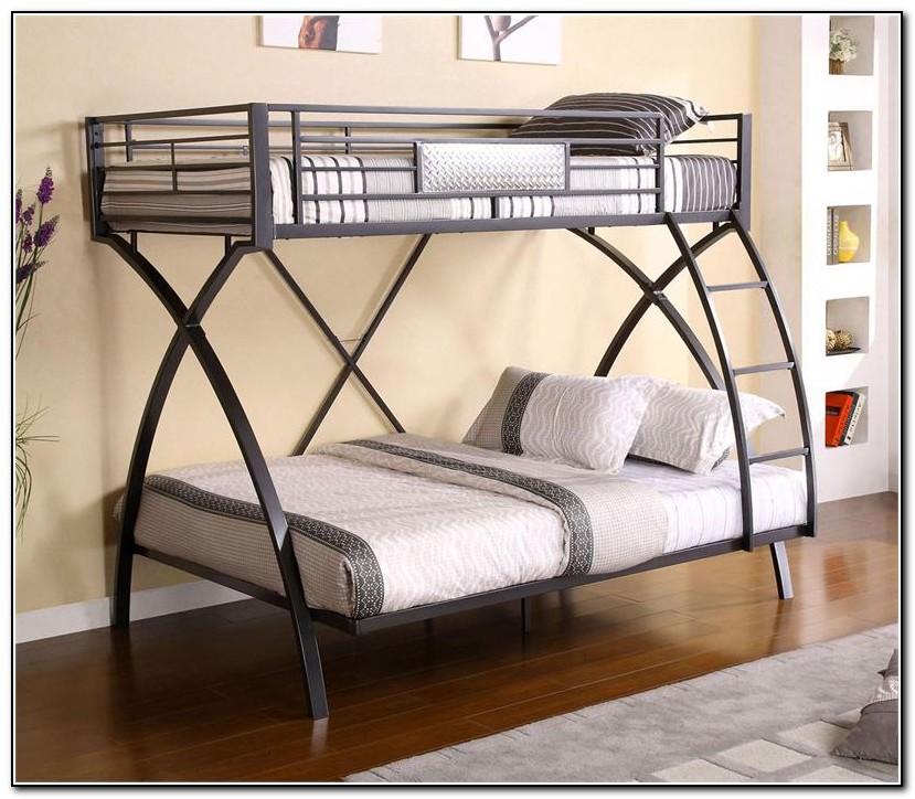 Twin Full Bunk Bed Metal