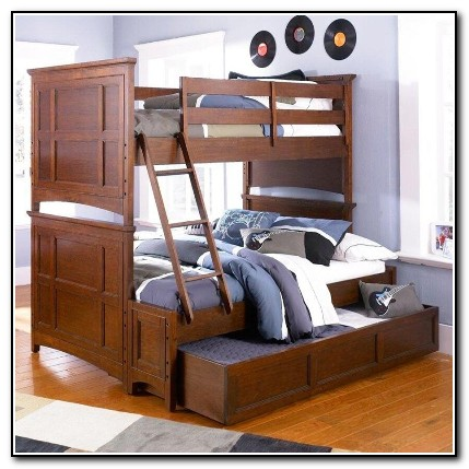 Twin Full Bunk Bed With Trundle