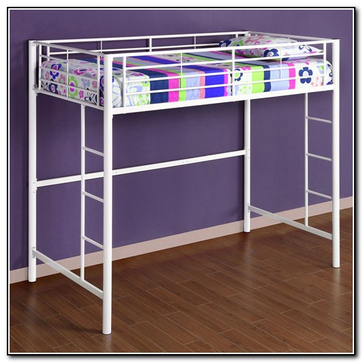 Twin Loft Bed With Desk Walmart