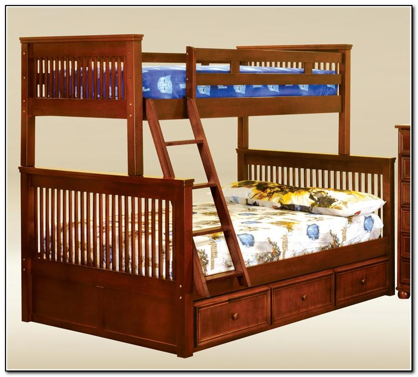Twin Over Full Bunk Beds Under $400
