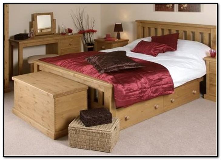 Under Bed Storage Drawers Wood