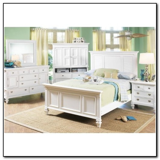 White Queen Bedroom Furniture Set