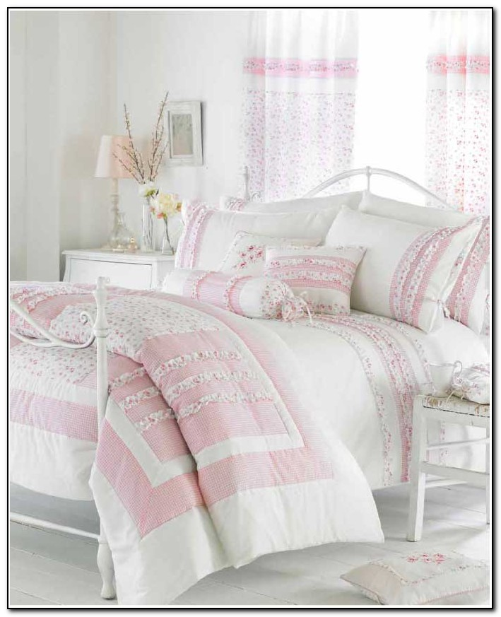 White Ruffle Bedding Uk
