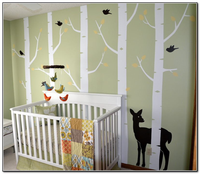 Woodland Baby Nursery Bedding