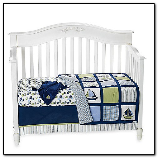Zachary Nautical Baby Bedding