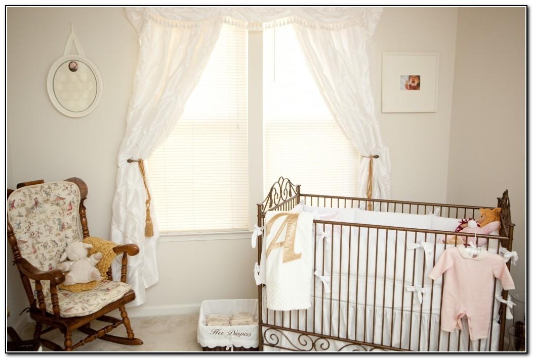 All White Crib Bedding