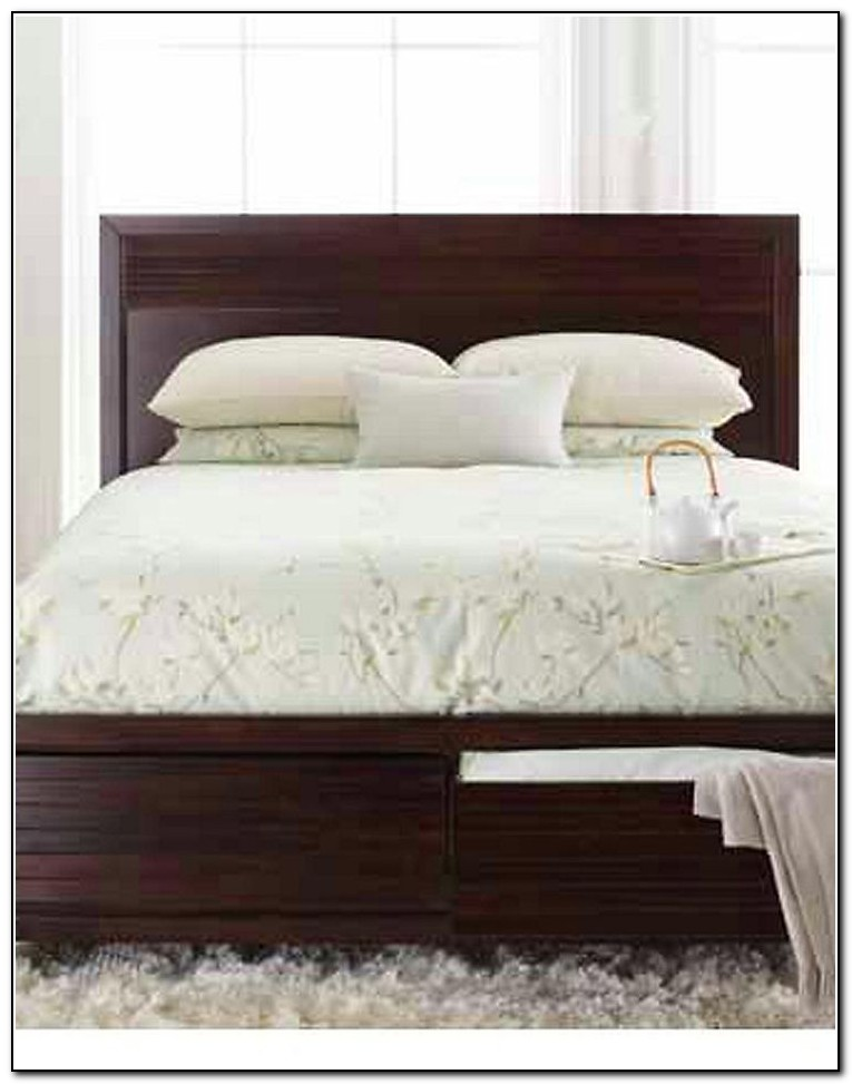Audrey Queen Storage Platform Bed