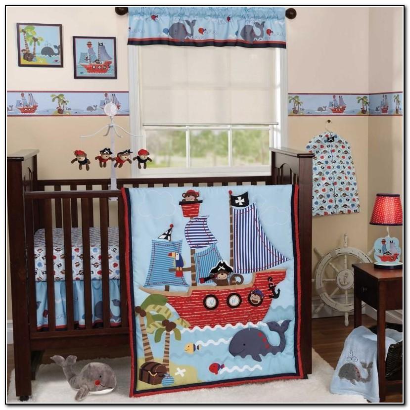 Baby Boy Monkey Crib Bedding Sets