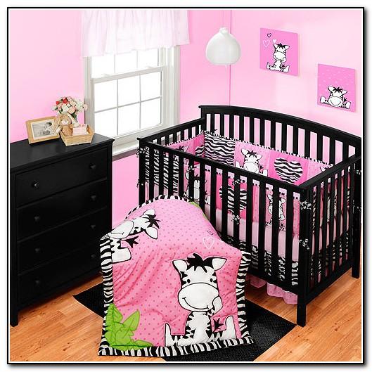 Baby Girl Zebra Crib Bedding