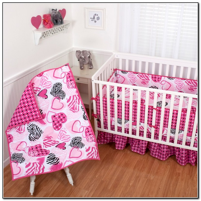 Baby Zebra Crib Bedding