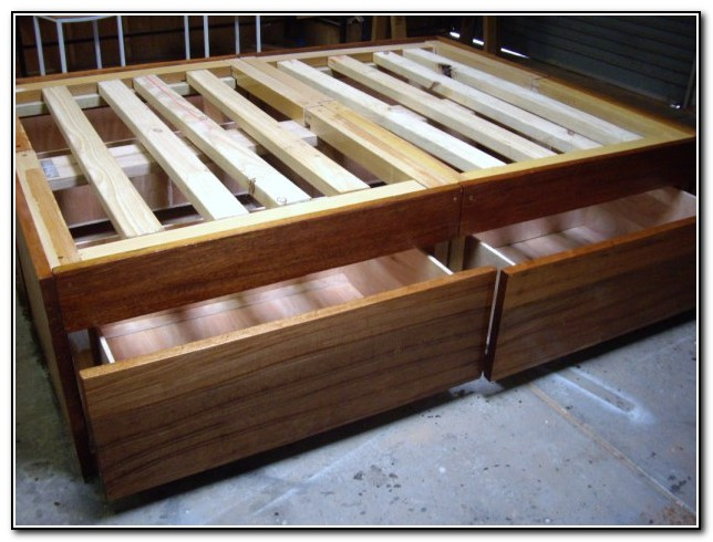 Bed Frame Plans Diy