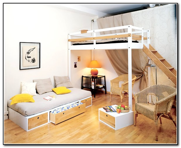 Beds For Small Spaces Ideas