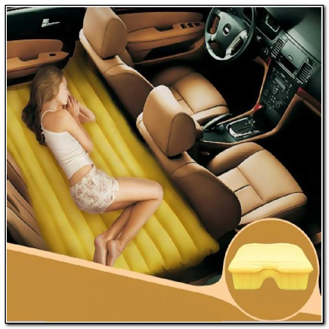 Blow Up Bed For Back Of Car