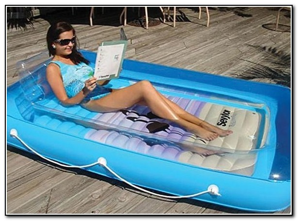 Blow Up Bed For Swimming Pool