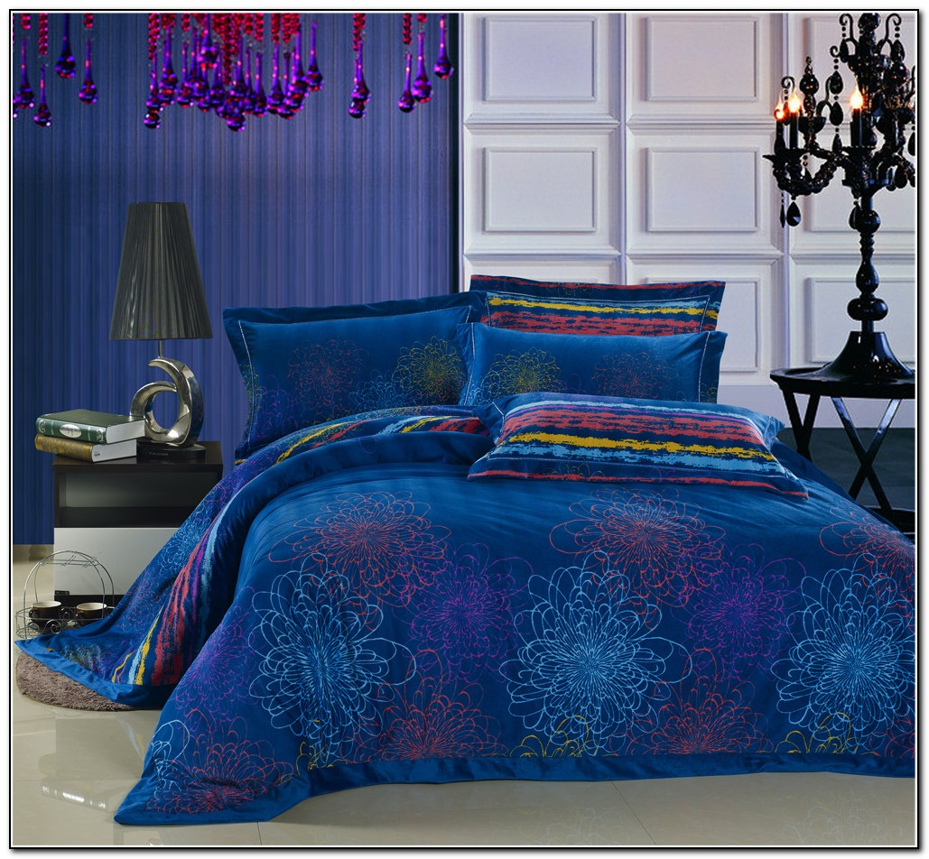 Blue Bedding Sets Luxury