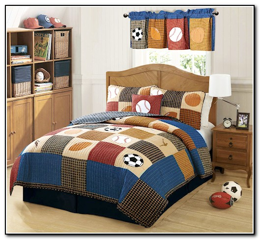 Boys Sports Bedding Full Size