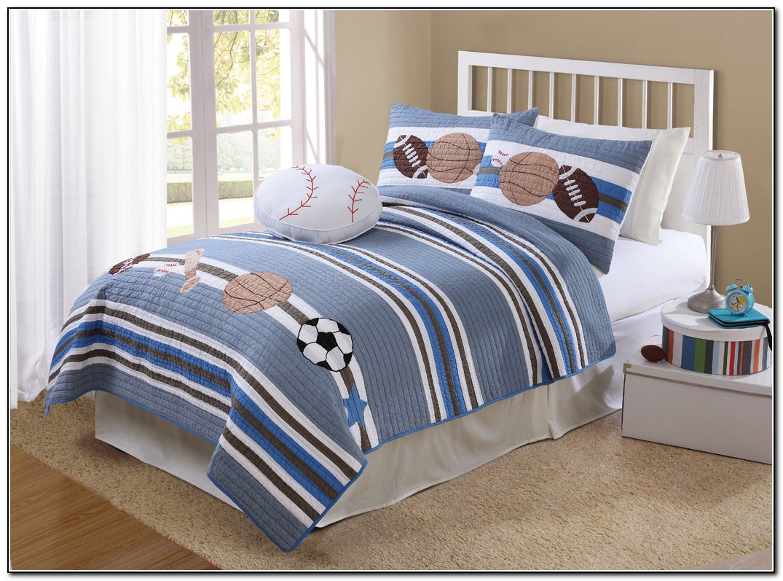 Boys Sports Bedding Full