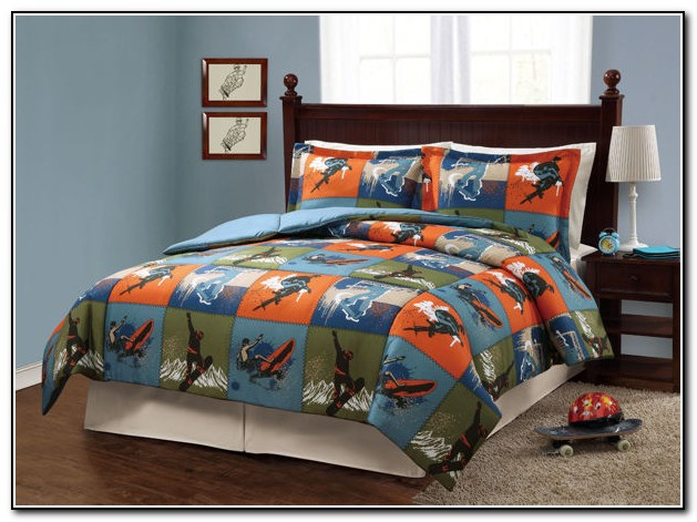 Boys Sports Bedding Twin Size