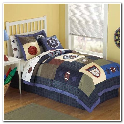 Boys Sports Bedding Twin