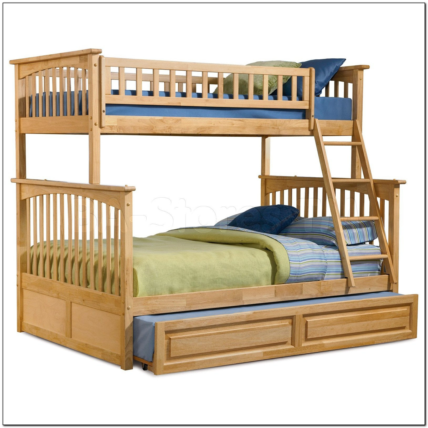 Bunk Bed Twin Over Full With Trundle