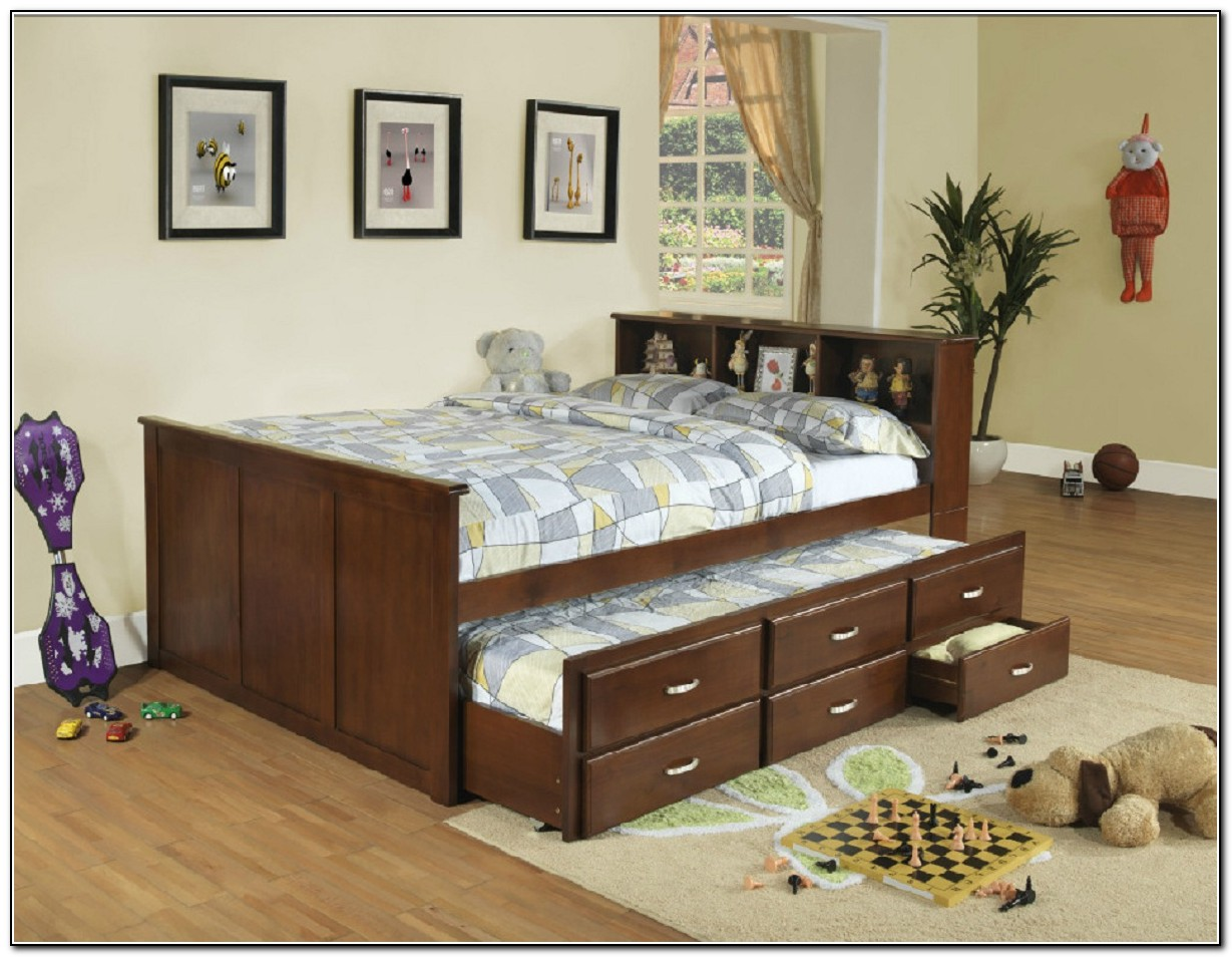 Captains Bed Full Ikea