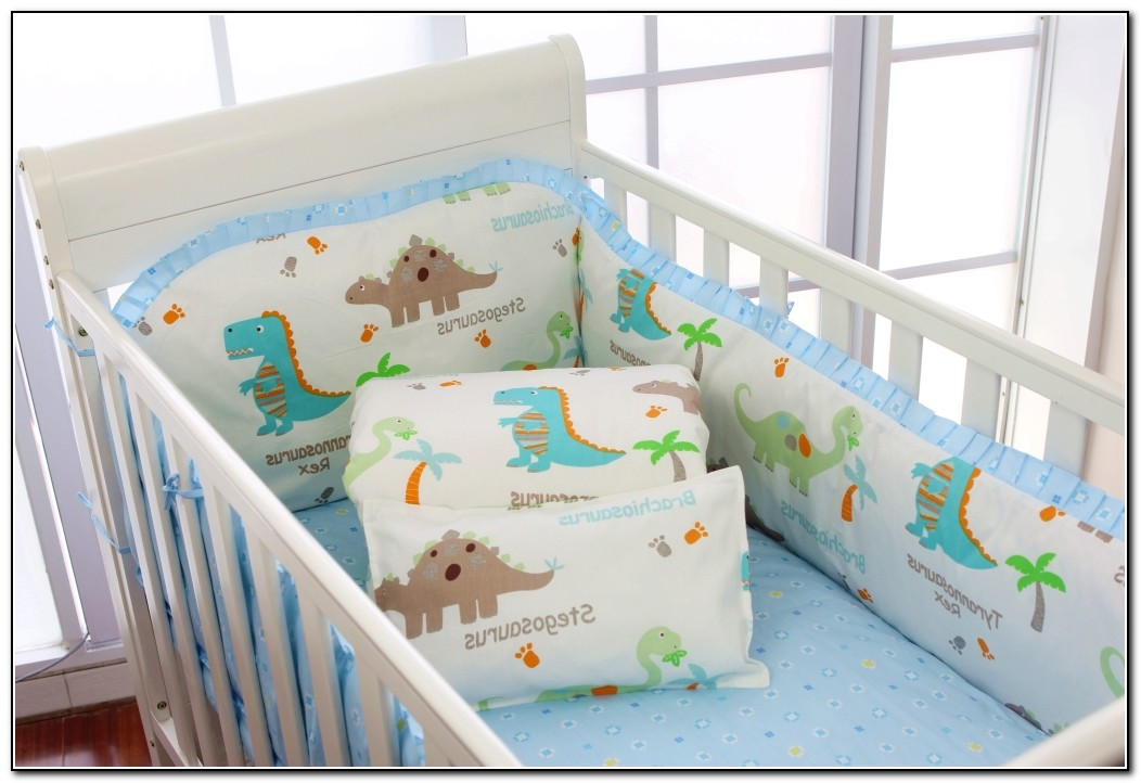 Dinosaur Crib Bedding For Boys