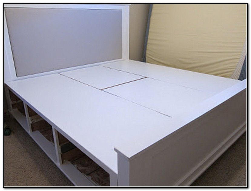Diy King Size Storage Bed