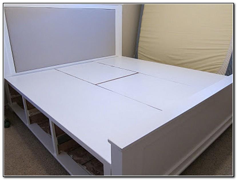 Diy King Size Storage Bed