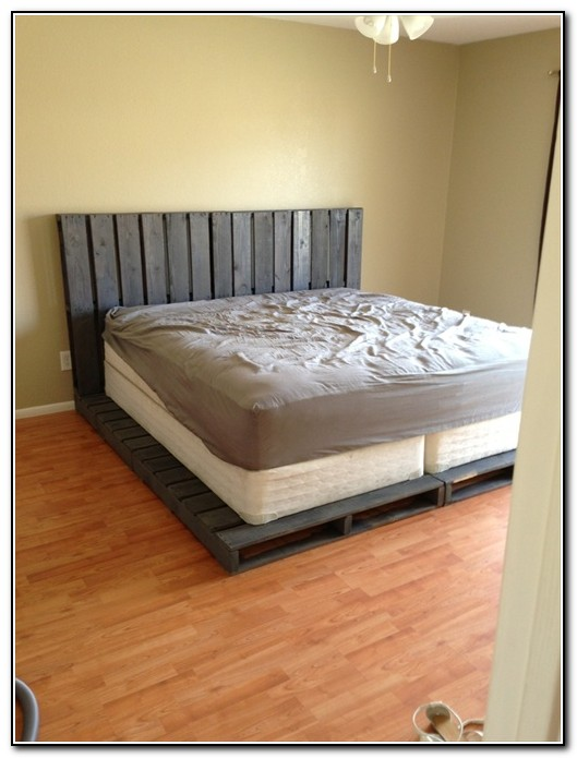 Double Bed Frame Diy